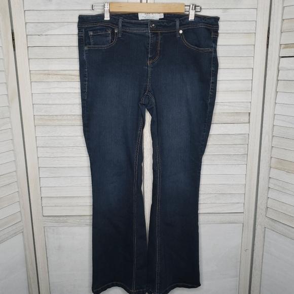 Torrid Luxe Slim Jeans 14S 14 Short Boot Cut Pants